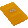 Корпус для жесткого диска AgeStar SUBCP1, оранжевый, купить за 645руб.