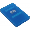 Корпус для жесткого диска AgeStar SUBCP1, синий, купить за 655руб.