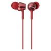 Наушники Sony MDR-EX250AP, красные, купить за 1215руб.