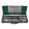 Набор инструментов Jonnesway S04H4724S, 1/2 DR, 8-34 мм, 24 предмета, 47483, купить за 5 445руб.