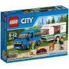 Конструктор LEGO City Фургон и дом на колёсах (60117), купить за 1 210руб.