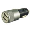 Зарядное устройство автомобильное, Buro 2.1A+1A универсальное (TJ-189), черный, купить за 455руб.