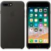 Чехол iphone Apple для iPhone 8 Plus/7 Plus Leather Case MQHJ2ZM/A, темно-серый, купить за 3305руб.
