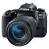 Цифровой фотоаппарат Canon EOS 77D Kit (EF-S 18-135mm IS USM), черный, купить за 70 640руб.