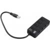USB концентратор Jet.A JA-UH35 (4 порта) черный, купить за 865руб.