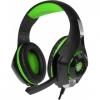 Гарнитура для пк Crown CMGH-101T, черно-зеленая, купить за 945руб.