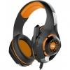 Гарнитура для пк Crown CMGH-102T, черно-оранжевая, купить за 1 235руб.