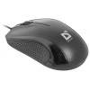 Мышка Defender MB-160 USB, черная, купить за 270руб.