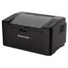 Лазерный ч/б принтер Pantum P2207, черный, купить за 3 940руб.