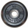 Диск для штанги MB Barbell MB-PltB31-1,25, черный, купить за 580руб.
