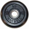 Диск для штанги MB Barbell MB-PltB26-1,25, черный, купить за 580руб.