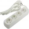 Сетевой фильтр Defender E418, белый, купить за 330руб.
