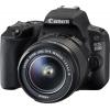 Цифровой фотоаппарат Canon EOS 200D Kit (EF-S 18-55mm DC III), черный, купить за 33 635руб.