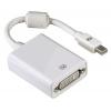 Товар кабель-переходник Hama 53248 (miniDisplayPort — DVI-D, M-F), белый, купить за 1010руб.