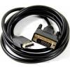 Кабель Telecom TA668-1.8M (DP - DVI-D DL, M/M, 1.8 м), чёрный, купить за 815руб.