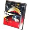 VCom VHD6020D-5MB (HDMI, M/M, 5 м), чёрный, купить за 765руб.