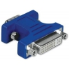 Кабель (шнур) Переходник Hama H-45074 VGA - DVI, купить за 910руб.