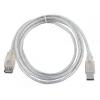 Кабель VCOM VUS6936-3MTP (USB2.0 A, M/F, 3 м), купить за 505руб.