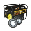 Электрогенератор HUTER DY6500LX, бензиновый, + колёса и аккумулятор, 220,  5 кВт, купить за 39 040руб.