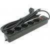 Сетевой фильтр ExeGate SP-5-5B, черный, купить за 400руб.