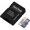 Карта памяти SanDisk Ultra microSDHC 32GB SDSQUNS-032G-GN6TA, с адаптером, купить за 725руб.