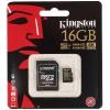 Карту памяти Kingston 16GB Class10 UHS-I (с адаптером), купить за 930руб.