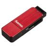 Устройство для чтения карт памяти Hama H-123902, красное, купить за 1280руб.