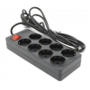 Сетевой фильтр 5bites SP8-B-75 черный, купить за 870руб.