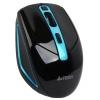 Мышь A4Tech G11-590FX USB, черно-синяя, купить за 1050руб.