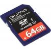 Qumo SDXC (QM64GSDXC10U1) 64Gb Class10, купить за 2 880руб.