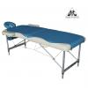 Стол массажный DFC Nirvana Elegant Deluxe, голубой/бежевый, купить за 13 490руб.