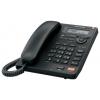 Проводной телефон Panasonic KX-TS2570RUB, черный, купить за 3 620руб.