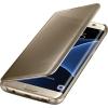 Samsung для Samsung Galaxy S7 edge Clear View Cover золотистый, купить за 6 080руб.