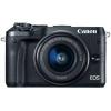 Цифровой фотоаппарат Canon EOS M6 Kit (15-45 IS STM), черный, купить за 39 980руб.
