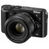 Цифровой фотоаппарат Nikon 1 V3 KIT (VR 10-30mm f/3.5-5.6 PD-ZOOM), черный, купить за 59 499руб.