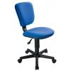 Компьютерное кресло Бюрократ CH-204NX/26-21, синий, купить за 2 590руб.