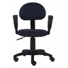 Компьютерное кресло Бюрократ CH-213AXN/12-191, черный/синий, купить за 2 690руб.