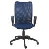 Компьютерное кресло Бюрократ CH-599/DB/TW-10N, темно-синий, купить за 3 990руб.