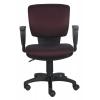Компьютерное кресло Бюрократ CH-626AXSN/V-02 черный/бордовый ромбик, купить за 3 890руб.