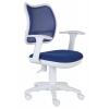 Бюрократ CH-W797/BL/TW-10 спинка сетка синий сиденье синий TW-10 (пластик белый), купить за 4 690руб.