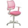 Компьютерное кресло Бюрократ CH-W797/PK/TW-13A спинка сетка розовый сиденье розовый TW-13A (пластик белый), купить за 4 485руб.