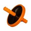 Тренажер Ролик для пресса (1-колесный) большой, оранжево-черный, купить за 635руб.