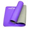 Коврик для йоги Starfit FM-201 (173x61x0,5 см), фиолетово-серый, купить за 1 320руб.