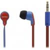 Наушники SmartBuy Fanatik SBE-4100, красные с синим, купить за 305руб.