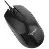 Gembird MOP-105 USB, черная, купить за 305руб.