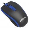 Мышь Perfeo PF-383-OP PROFIL USB, черно-синяя, купить за 245руб.