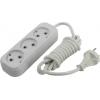 Удлинитель электрический Smartbuy SBE-10-3-02-N 2м (3 розетки), белый, купить за 300руб.