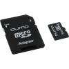 Qumo microSDHC class 4 16GB (с адаптером), купить за 730руб.