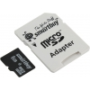 SmartBuy microSDHC Class 4 8GB SB8GBSDCL4-01-BTS (с адаптером), купить за 710руб.