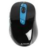 Мышь A4Tech G11-570FX, черно-синяя, купить за 1215руб.